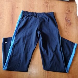 Nike polyester jogging pants size small
